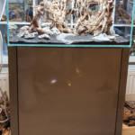 Designunterschrank 60x45x35 Weißglas Poolbecken Aquascaping | Galerie Wasserwelten
